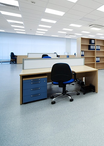 Specialist flooring for schools and Work environments